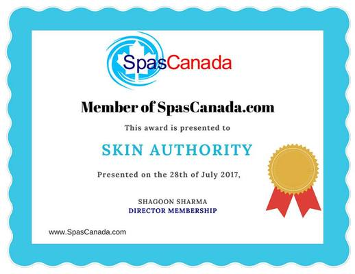 SKIN Authority Joins SpasCanada.com